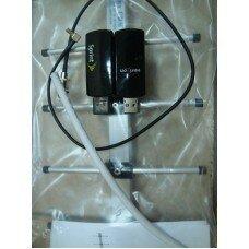 Комплект 3G CDMA модем Novatel U760, адаптер(Pigtail), кабель с Антенной 24 dBi
